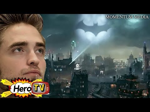 It's Official: Robert Pattinson Is Your New Batman and More! -HeroTV