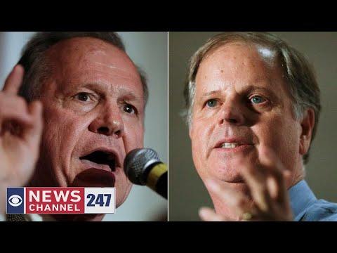 Roy Moore, Doug Jones neck-and-neck in Alabama Senate race