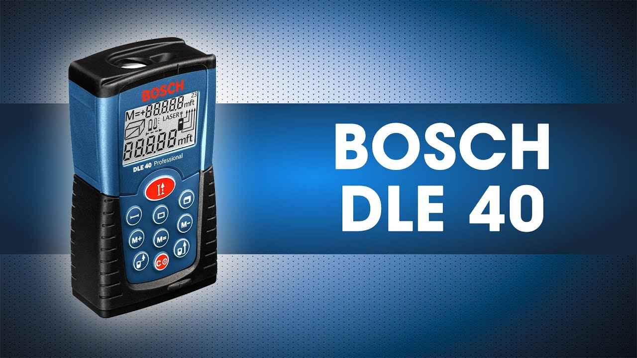 Лазерный дальномер bosch dle 40 youtube