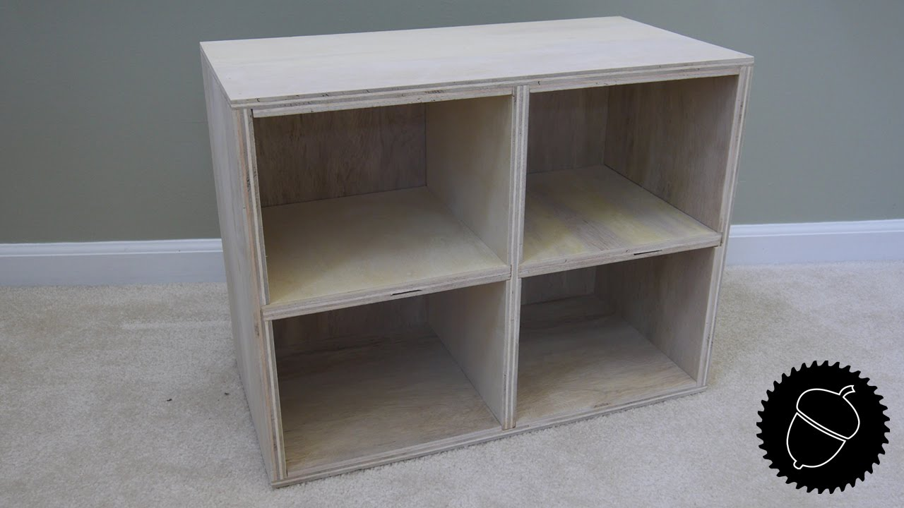 How to Make a Wooden Cubby | Great Storage Project! - YouTube