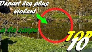 TOP 10 DES DÉPART LES PLUS VIOLENT A LA CARPE  Carp Run Compilation 