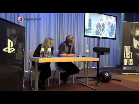 The Last of Us Q&A with Troy Baker and Ashley Johnson at Gamescom 2012