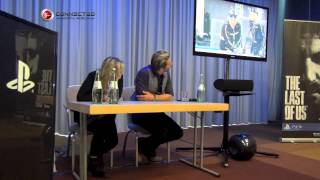In this video we have the Q&A session with Troy Baker and Ashley Jo...