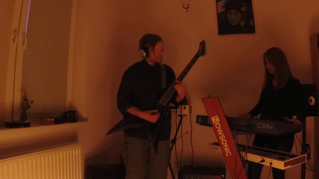 Evelyn - Galaxy Formation [live from the rehearsal room 10.04.2020] Industrial Black Metal