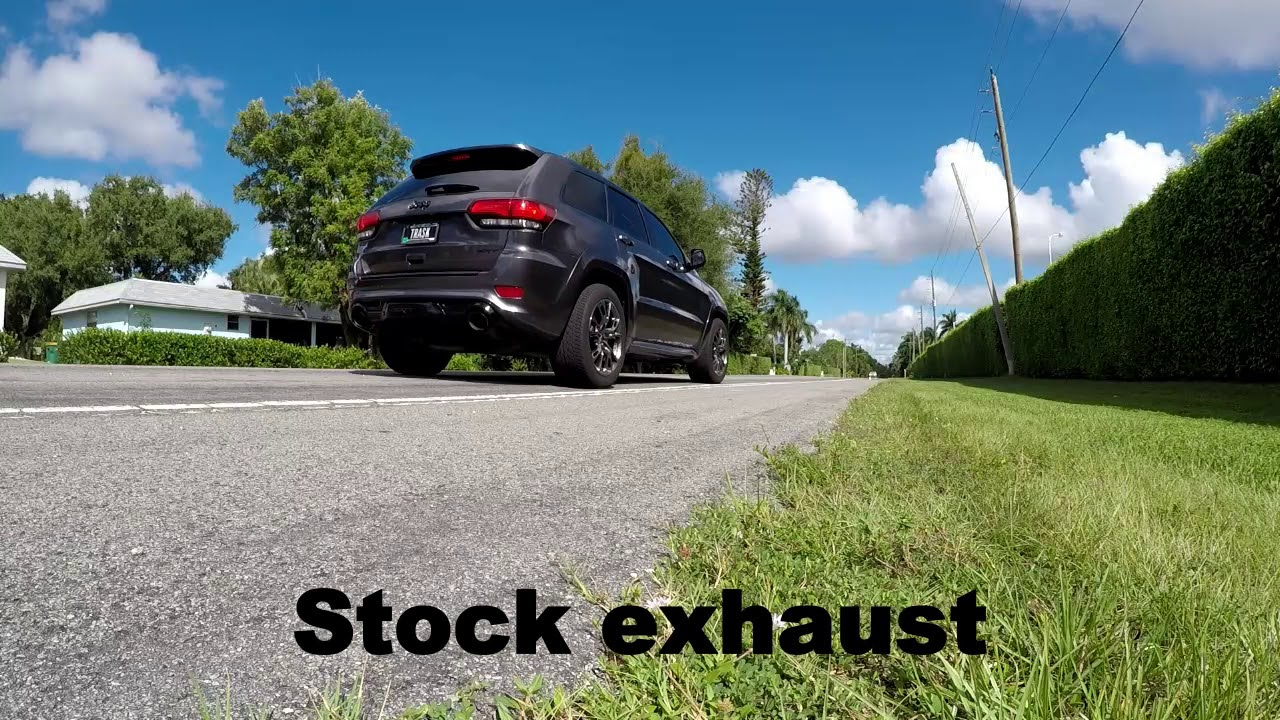 Rear Resonator Delete On A 2014 Srt Jeep Grand Cherokee Youtube