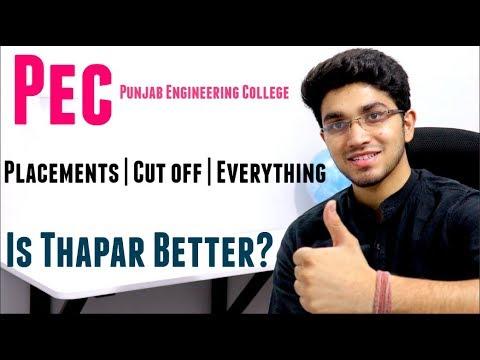 PEC Chandigarh | Punjab Engineering College | PEC vs Thapar