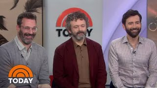 Jon Hamm, Michael Sheen And David Tennant Talk 'Good Omens' | TODAY