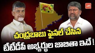 Telangana TDP MLA Candidates List Released | Mahakutami | Chandrababu | Congress | YOYO TV Channel
