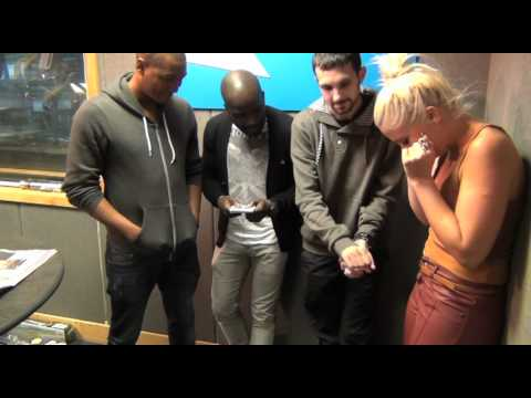 Dynamo&39;s magic trick with Rickie Melvin and Charlie - Kiss FM UK Breakfast
