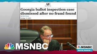 Judge Stomps Out Trump Big Lie Case In Georgia And Triggers Trump Tantrum