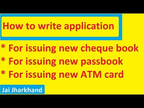 How to write application to bank manager for issue new atm card how to write application letter to bank manager in english in very easy and simple altavistaventures Image collections