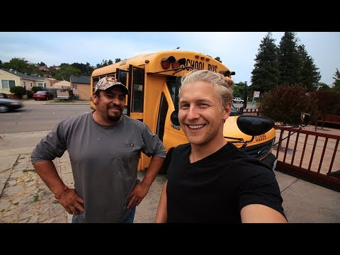 building my dream school bus