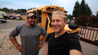 building my dream school bus