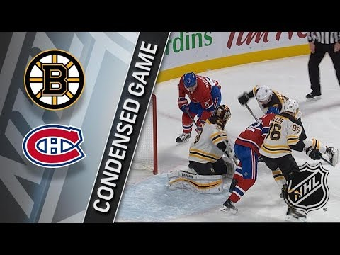 Boston Bruins vs Montreal Canadiens – Jan. 13, 2018 | Game Highlights | NHL 2017/18. Обзор матча