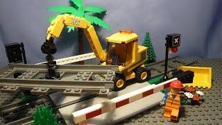 Lego City 7936 | Железнодорожный Переезд / Level Crossing