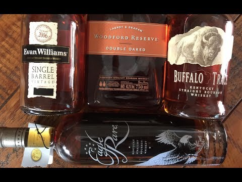 The Best of 4 Bourbon Whiskies: Summary of Reviews 147-150
