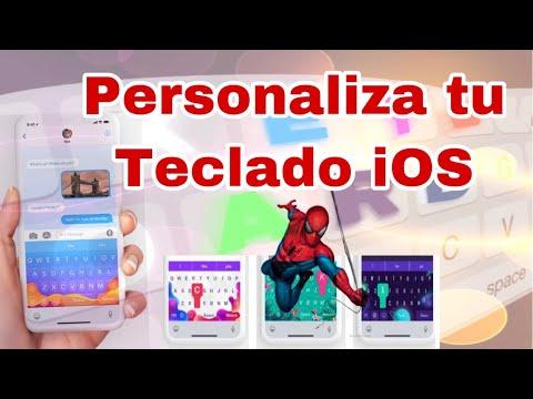 Personaliza Tu  Teclado en iPhone y iPad