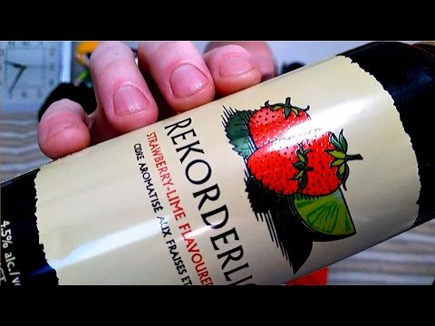 Vlog | ALL THE DELICIOUS! | Rekorderlig Strawberry Lime [Daily Drink #78]