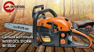 Бензопила INTERTOOL STORM WT-0645. Презентация и обзор.