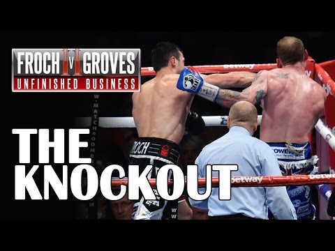 Carl Froch knocks out George Groves at Wembley