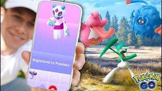 EVOLVING TO SHINY FROSLASS! Getting NEW POKÉMON in Pokémon GO!