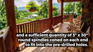 Interior & Exterior Railing for Log Homes - Appalachian Log Structures