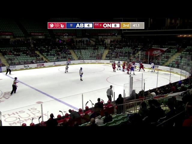 2019 CWG - Men's Hockey - Game 36 - AB vs ON