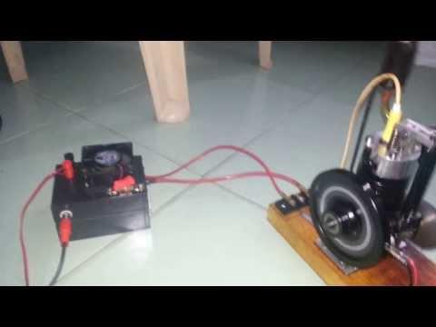 My 8CC 4-stroke petrol engine-homemade