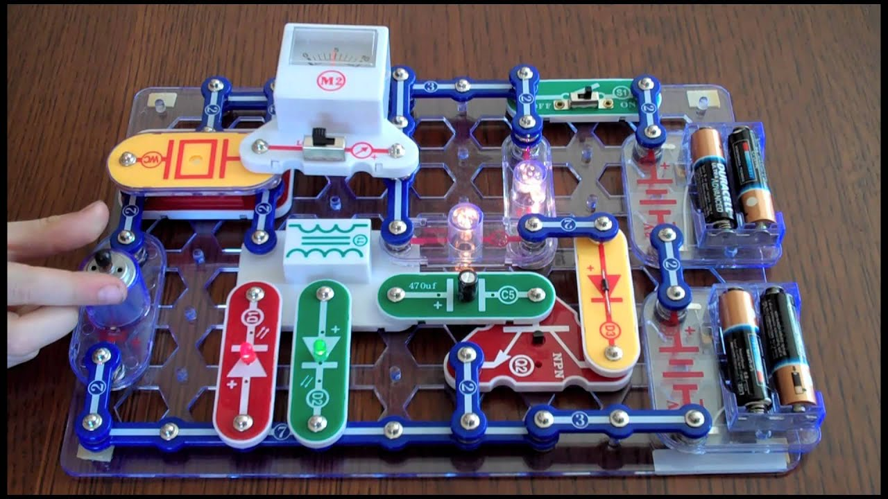 Electronic Snap Circuits Kit Kids Electronic Projects Kit