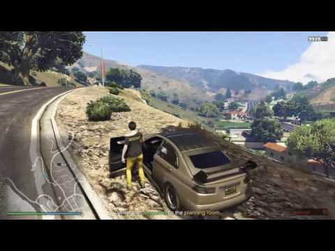 GTA 5 Online - Prison Break Wet Work tricks