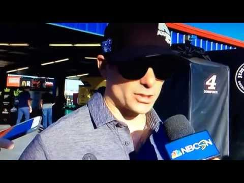 Jeff Gordon Chicagoland Post Race Interview