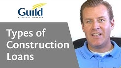 Different types of construction financing- Are there different kinds of construction financing?