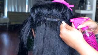 How to Safely Remove Tape-Ins! Natural Hair