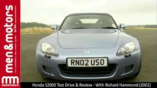 honda s2000 test drive review with richard hammond 2002
