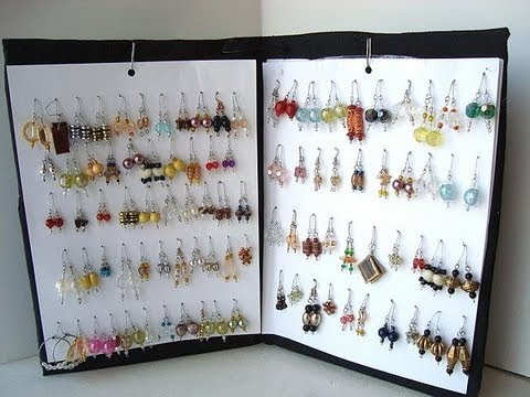 How To Make An Earring Rack Diy Organizer Storage