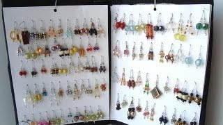 How To Make An Earring Rack, Diy, Organizer Storage