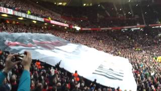 "Man Utd Munich Flag ""We"