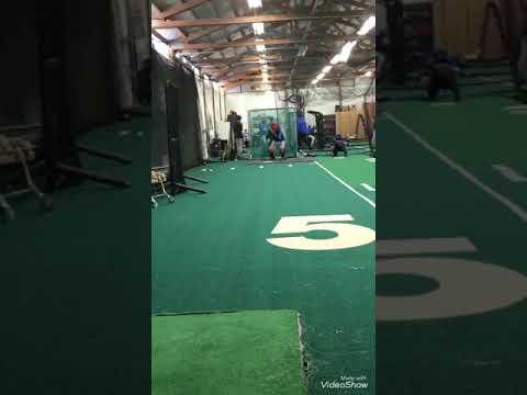 Throwing bullpen