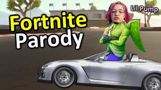 Lil Pump - &quotButterfly Doors&quot FORTNITE PARODY (Music Video) ft. Mikey