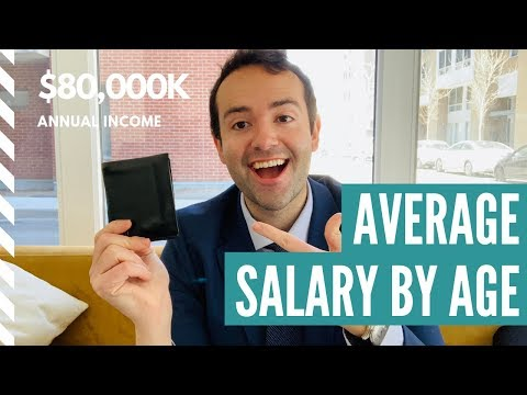 Average Salary In The United States By Age | Austin Kelly