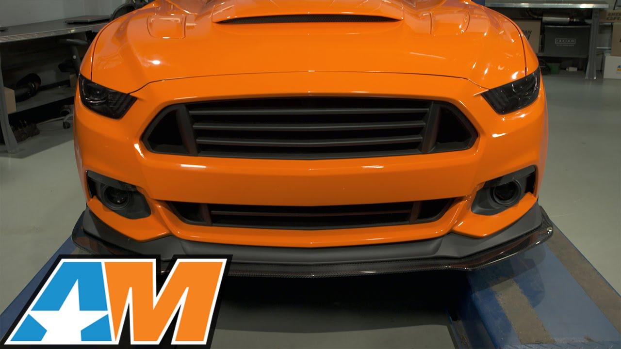 Carbon Fiber 600 Horsepower 2017 Ford Gt: 2015-2017 Mustang Trufiber Carbon Fiber Front Splitter W