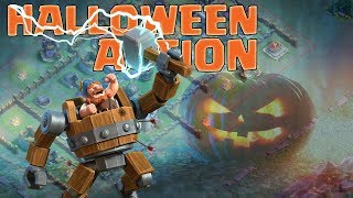 Halloween Action! || Clash of Clans || Let