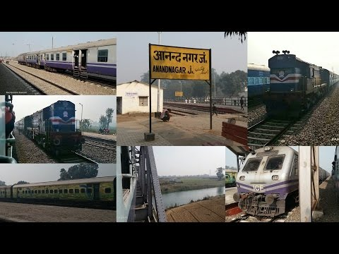 Anandnagar Pharenda to Gorakhpur Full Train Journey Compilation !!!
