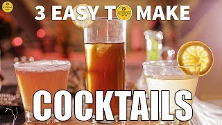 Top 3 Easy Cocktails To Make A…