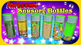 DIY Sensory Bottles for kids 🔮