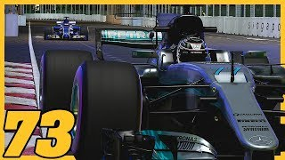 THE EPIC CHAMPIONSHIP BATTLE CONTINUES IN SINGAPORE  14/20  F1 2017 Sauber Career Mode S4. Ep. 73