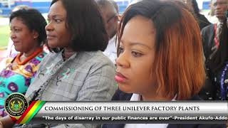Commissioning of 3 Uniliver Factory Plants