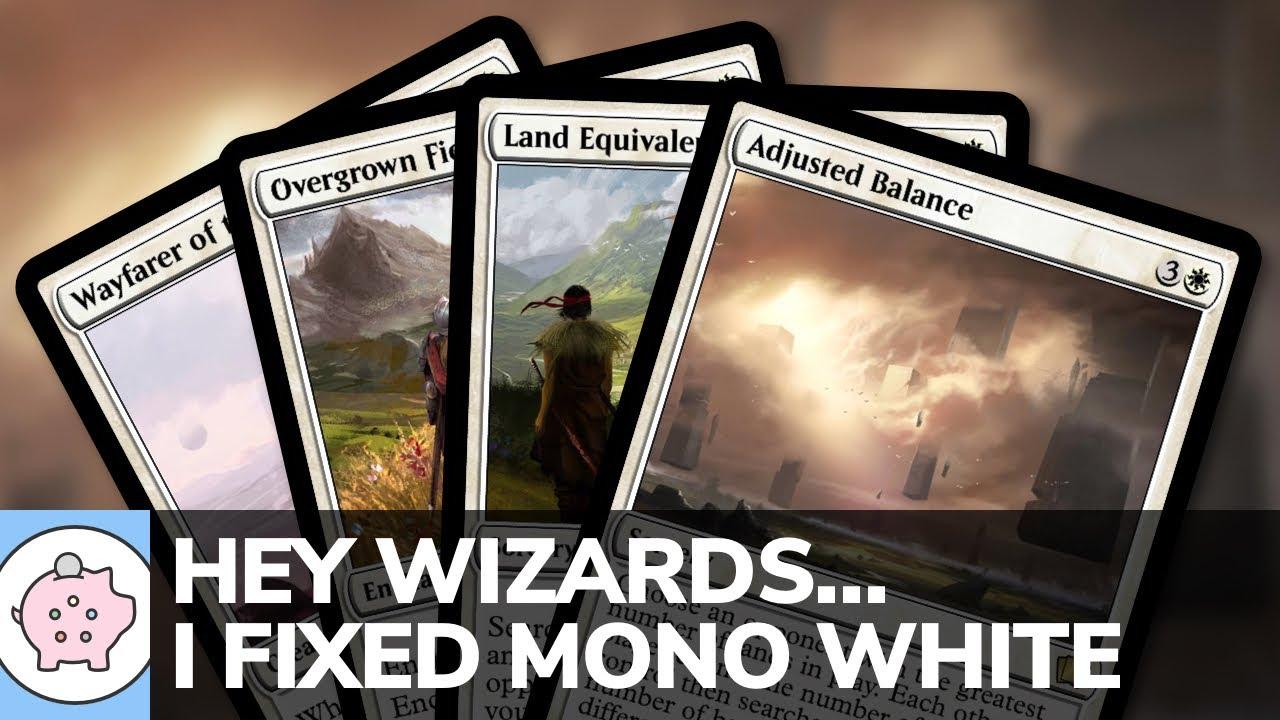 Hey Wizards...I Fixed Mono White | EDH | Mono White Ramp | Magic the Gathering | Commander