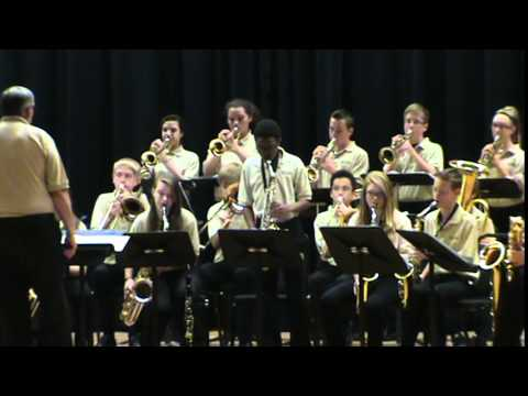 Adonis Forte Alto Sax Solo with Beveridge Magnet Middle School April 2015