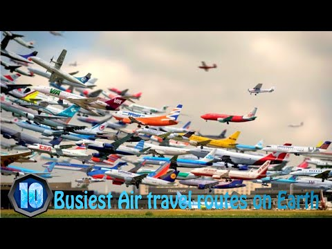 10 Busiest Air Travel Routes on Earth